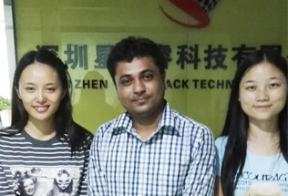 Indian Client Visited  Startrack