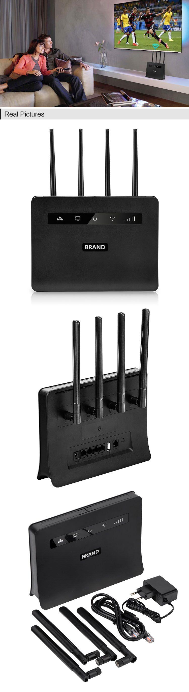 sim card router with rj45 wan/lan port