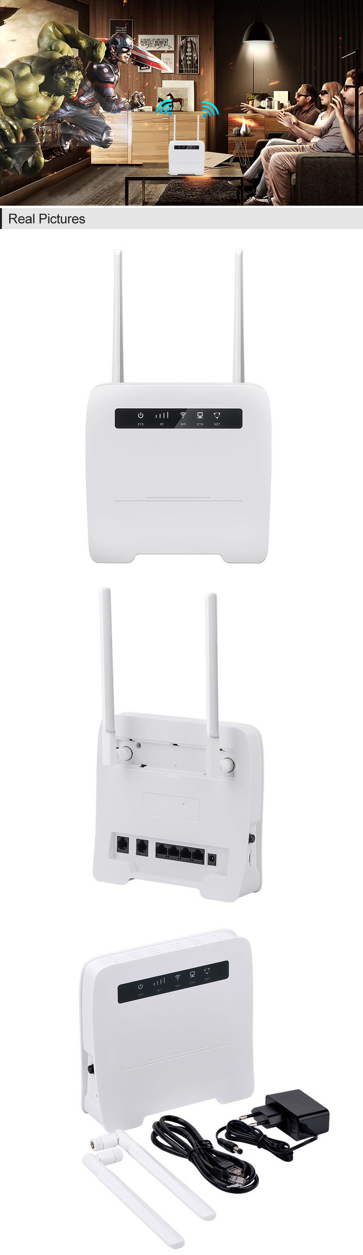 wireless router 3g 4g