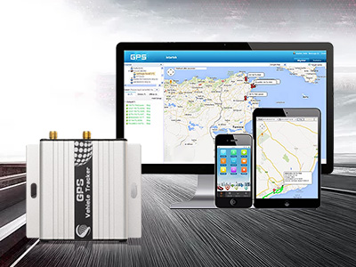 What is the difference between GPS positioning platform software and auto tracker?