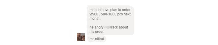 Plan to order VT900 tracker