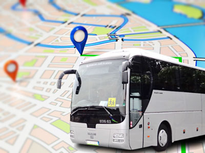 What is the Combined Application of vehicle satellite tracker and RFID in intelligent Bus Management?