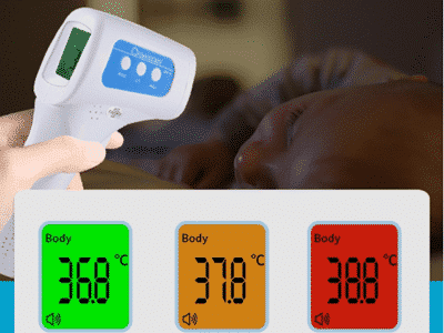 What's the features and instructions for iStartek digital infrared thermometer?
