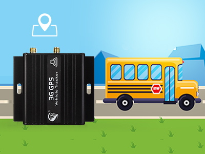 What is the benefits of tracking car tracker GPS system installed on school bus?