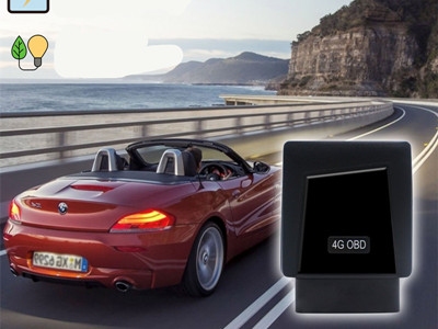 What are the supported functions by obd tracker?